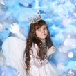 Christmas angel — Stock Photo #17408643