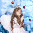 Christmas angel — Foto Stock