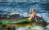 Beautiful mermaid — Stock Photo