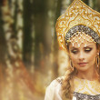 Beautiful Russiprincess from fairy tale — Stock Photo #32134441