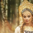 Beautiful Russiprincess from fairy tale — Foto de stock #32134441