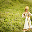 Beautiful Russiprincess from fairy tale — Stock Photo #32134679