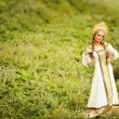 Beautiful Russiprincess from fairy tale — Stockfoto #32134679