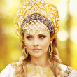 Beautiful Russiprincess from fairy tale — Stock Photo #32135091