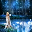 Стоковое фото: Beautiful Russiprincess from fairy tale