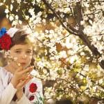 Beautiful little Russian girl — Stock Photo