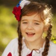 Beautiful little Russian girl — Stock Photo #43702435