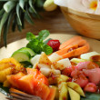 Traditional fruit salad dish commonly found in Indonesia — Stock Photo
