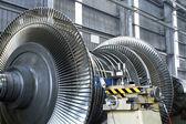 Turbine at workshop — Stock Photo