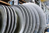 Rotor of a steam Turbine — Stock Photo