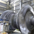 Turbine at workshop - Stok fotoğraf