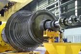 Turbina industriale al workshop — Foto Stock