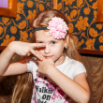 Fashion victim little princess girl portrait — Stock Photo #22400501