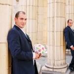 Happy groom — Stock Photo