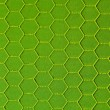 Stock Photo: Green hexagonal background