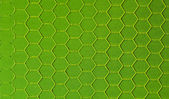 Green hexagonal background — Stock Photo