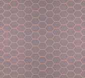 Seamless tileable gray honeycomb background — Stock Photo