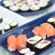 Sushi - Japanese Traditional Cuisine — Stock Photo #13550543