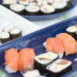 Sushi - Japanese Traditional Cuisine — Stock Photo #13550556
