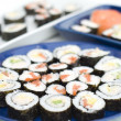 Sushi - Japanese Traditional Cuisine — Stock Photo #13550561