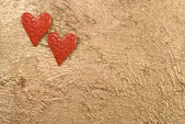 Hjärtan tillsammans — Stockfoto