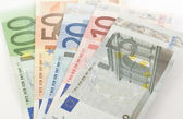 European Currency Banknotes — Stock Photo
