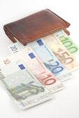 お金と財布 — ストック写真