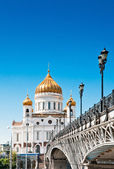 Cathedral of Christ the Savior, Moscow, Russia — Stock Photo