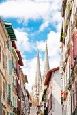 Buildings in Bayonne, France — Stock Photo
