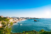 View of Biarritz city center, France — Stock Photo