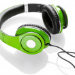 Headphones isolated on a white background — Stock Photo #18663783