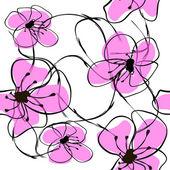 Kwiat sacura — Wektor stockowy
