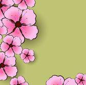 Flower sacura — Stock Vector