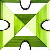 Zielone płytki ceramiczne — Zdjęcie stockowe
