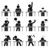 School days — Stock Vector