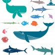 Sea vector set — Stock Vector #41929417