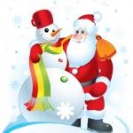 Santa Clause — Stock Vector #8968539
