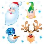 Santa Clause — Stock Vector #8968553