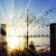Gates of heaven — Stock Photo