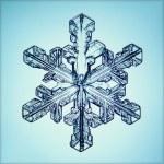 Ice crystal — Stock Photo