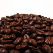 Coffee beans, arabica texture — Stock Photo