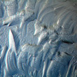 Texture of the ice — Stock Photo
