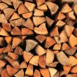 Stack of fire wood — Stock Photo #22165407