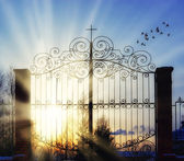 Gates of heaven — Foto de Stock