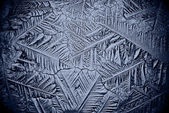 Ice background microscopic — Stock Photo