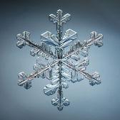 Christmas snowflake winter pattern — Stock Photo