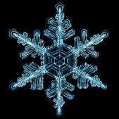 Natural snowflake — Stock Photo