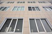 Windows of a modern building — Stock Photo