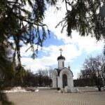 Stone chapel, orthodox church, Russia — Stock Photo #28269877
