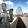 Batyushkov monument in Vologda — Stock Photo #28270183